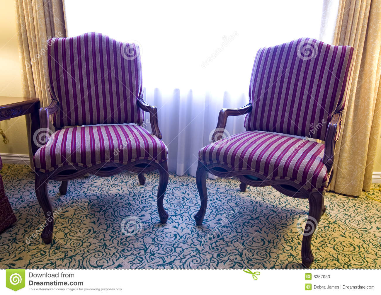 fabrics for chairs striped ergonomic chair requirements pair of fabric stock photos image 6357083