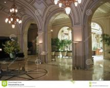 Palace Hotel Lobby In Sf Ca Stock - 2283300