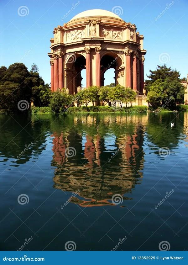 Palace Of Legion Honor San Francisco Stock