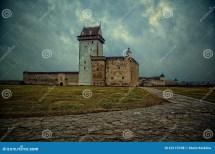 Palace In Narva Estonia Stock - 62110708