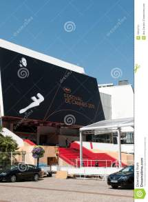 Palais Des Festivals In Cannes Editorial