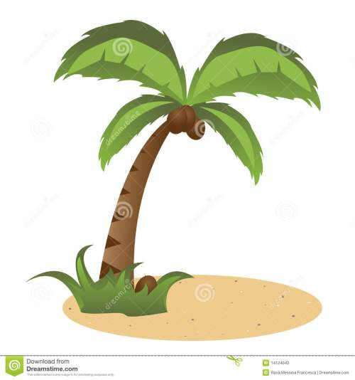 small resolution of palm tree coconut palm clip art