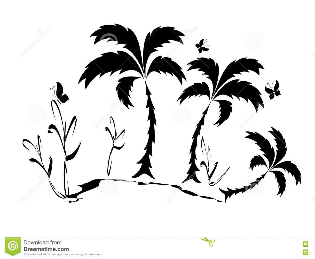 Palm Treee Stock Photography