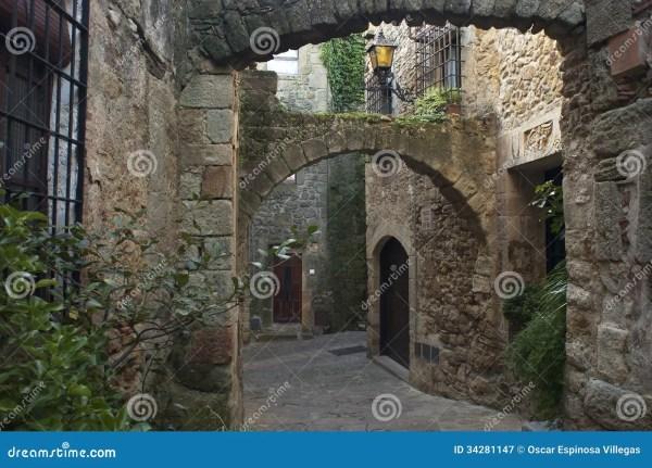 Pals. Girona Royalty Free Stock - 34281147