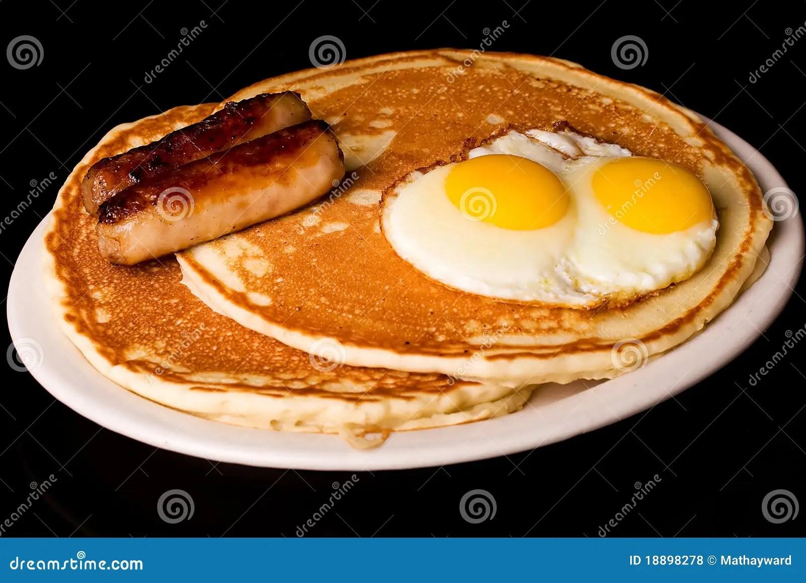 hight resolution of pancake breakfast