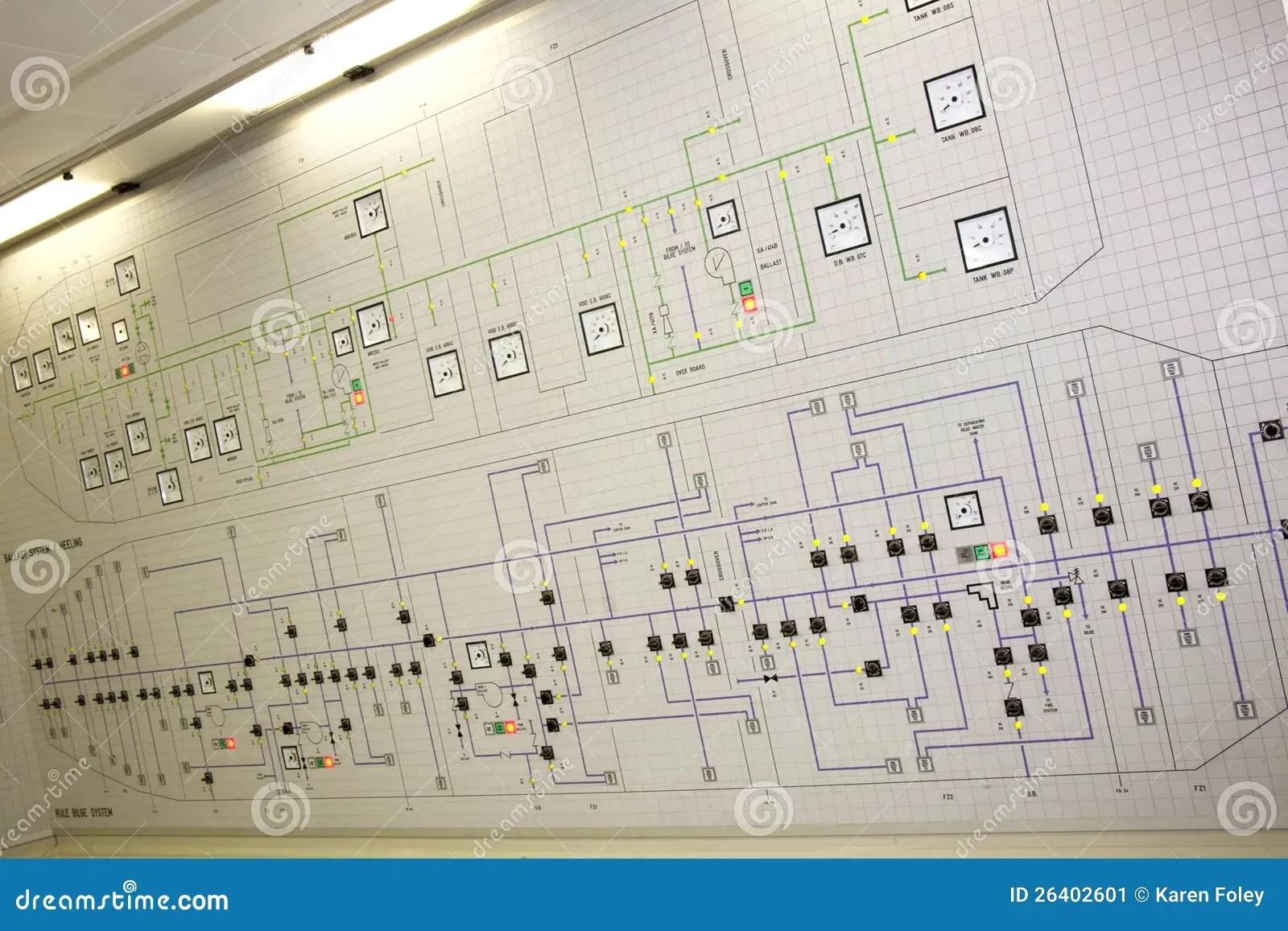 cruise ship diagram brain inside panel of ships stock image 26402601