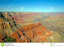 Panoramic View Of Grand Canyon Stock
