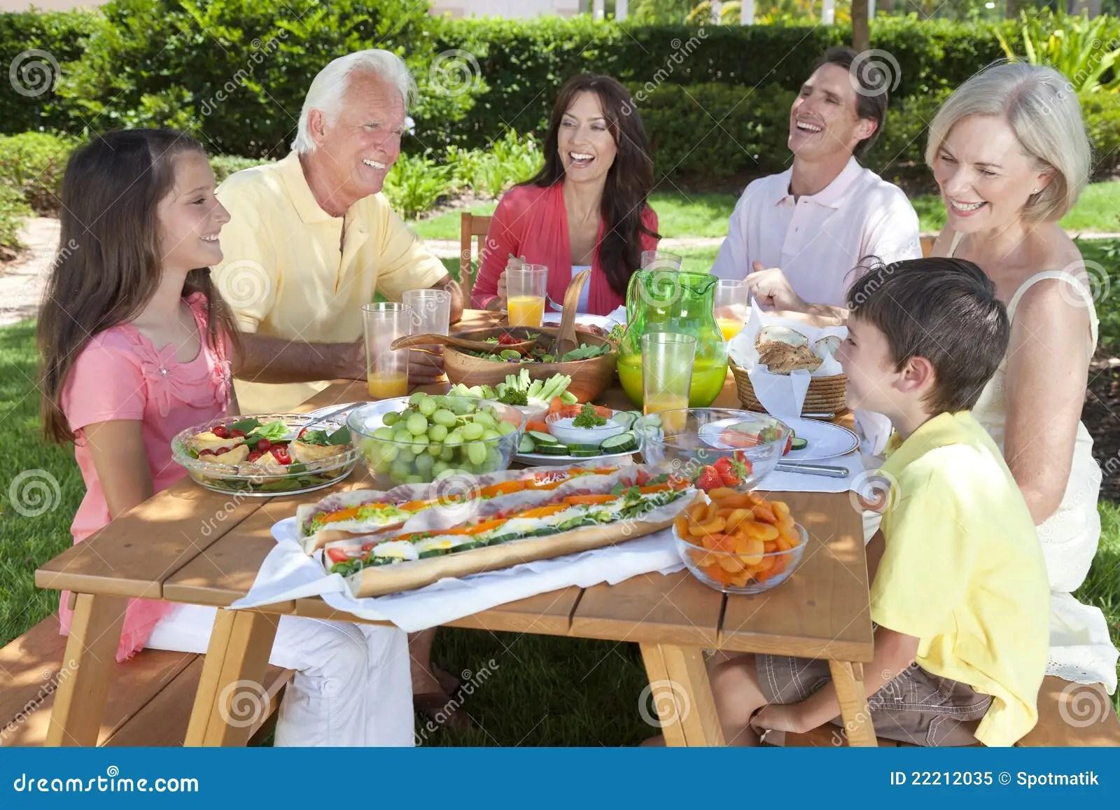 Healthy Food Eat Outside