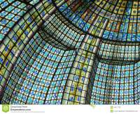 Paris Beautiful Color Of Stained Glass Windows Stock Image ...