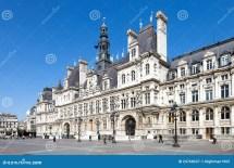 Paris - City Hall Editorial Of Landmark
