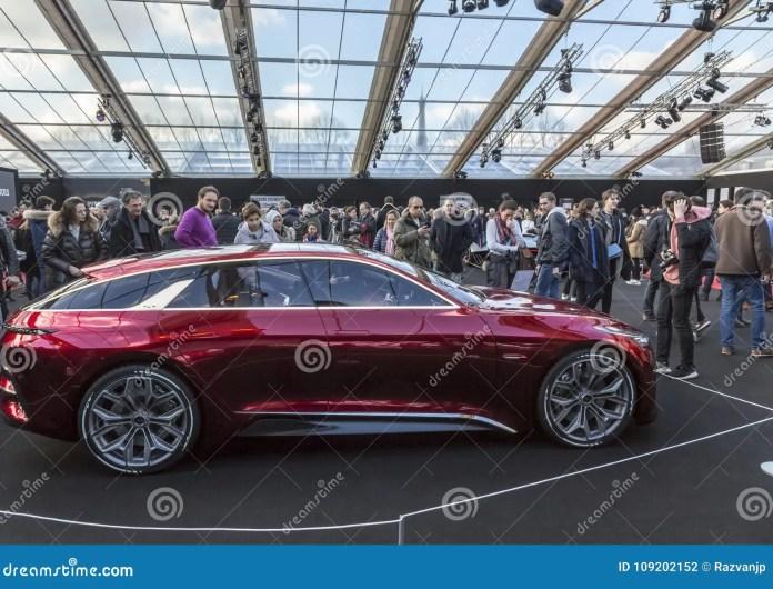 the concept cars exhibition and automobile design - paris 2018