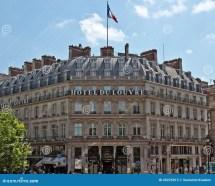 Paris - Hotel Du Louvre Editorial Of