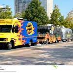 Parked Food Trucks At Klyde Warren Park Editorial Stock Photo Image Of Street Choice 73332738
