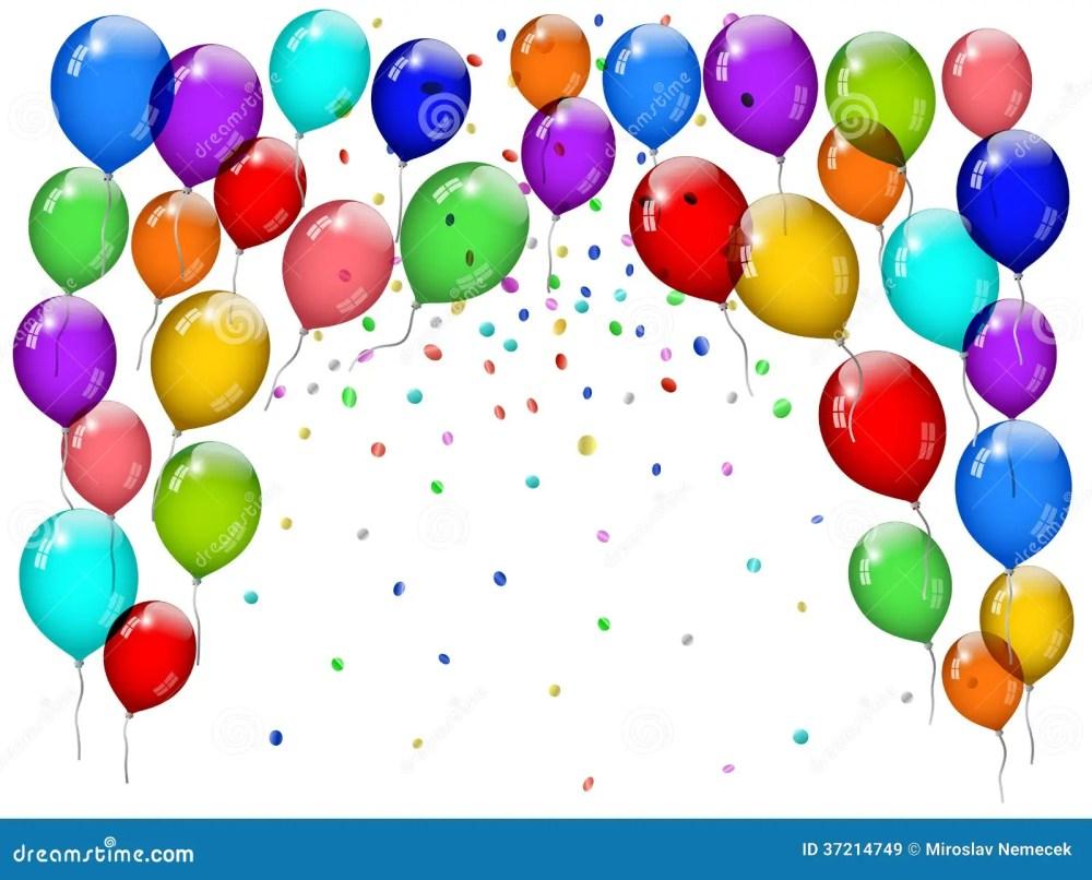 medium resolution of party balloons