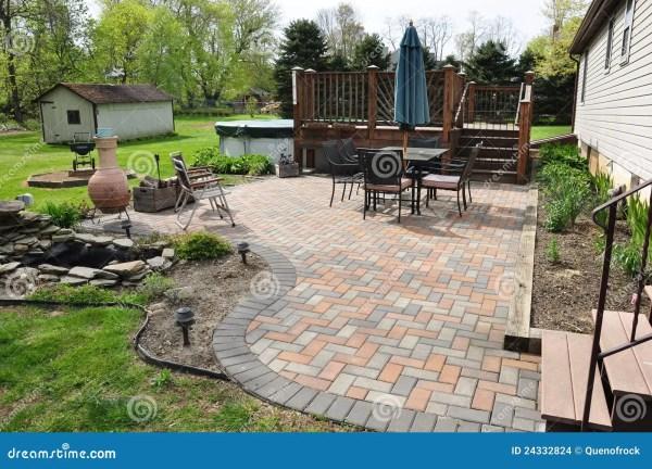 patio and garden stock