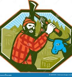 paul bunyan stock illustrations 19 paul bunyan stock illustrations vectors clipart dreamstime [ 1300 x 1327 Pixel ]