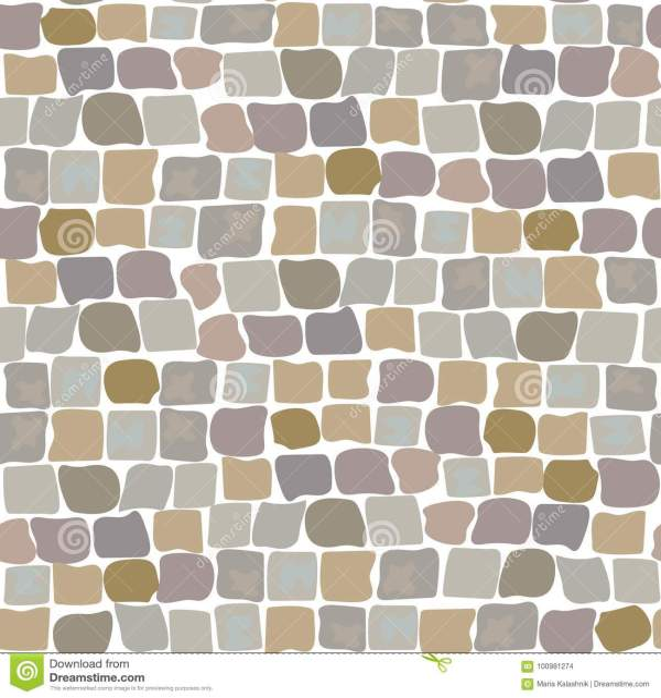 medieval pebble pavement stock