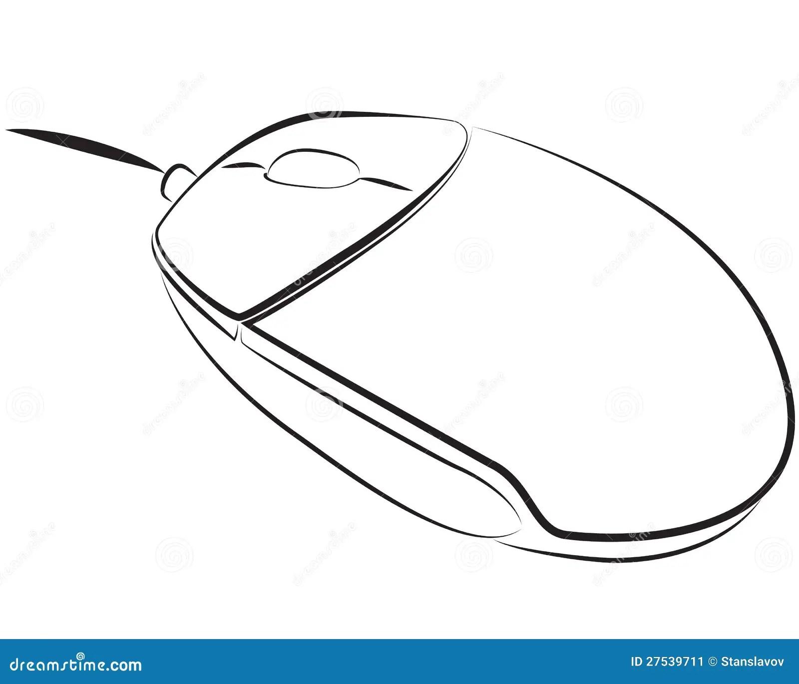 Pc Mouse Stock Illustration Illustration Of Order