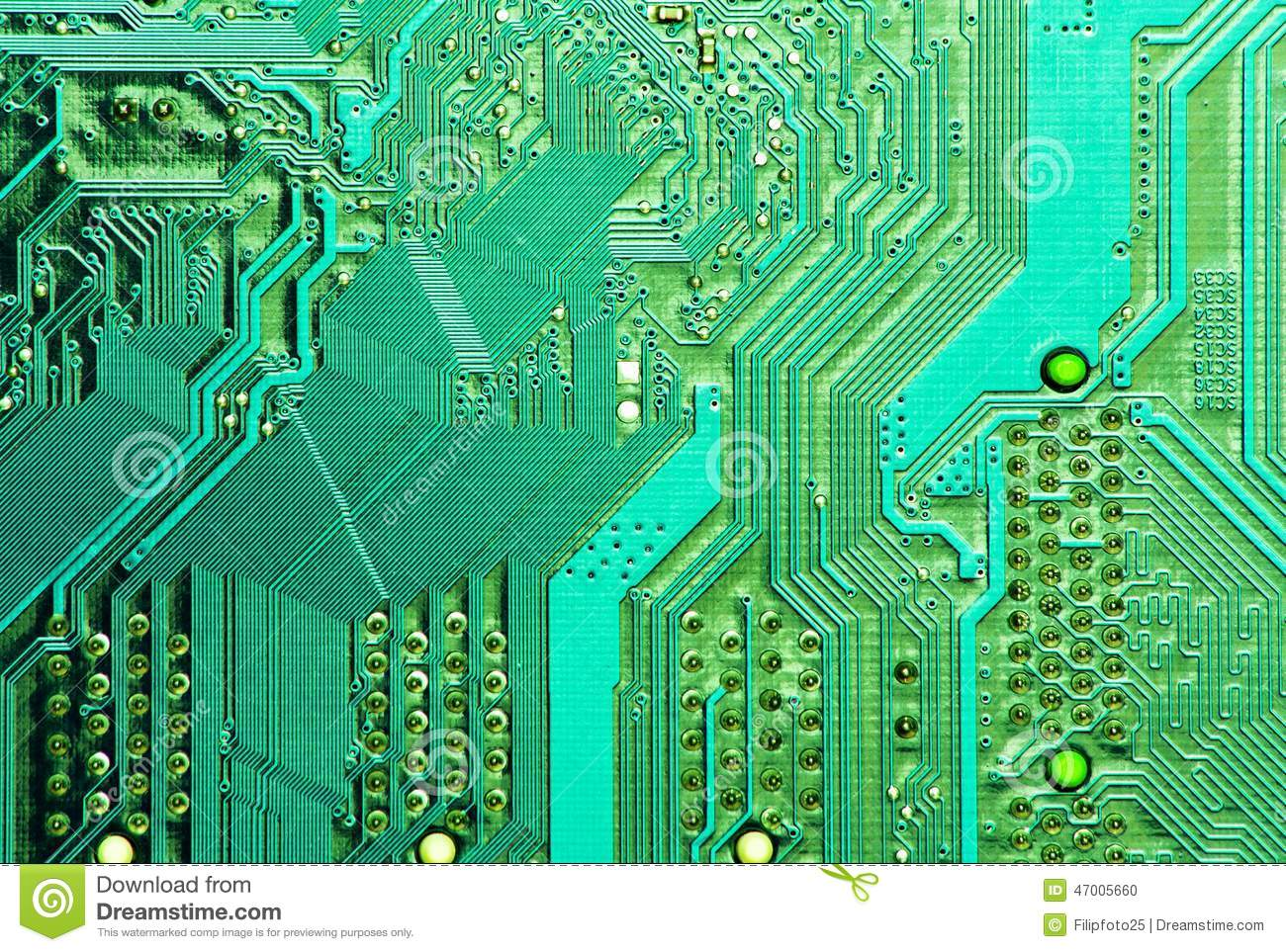PCB Board Stock Photo. Image Of Assembly, Current