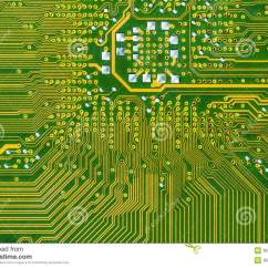 Motherboard Circuit Diagram Of Wiring A Light Switch Pcb Stock Image. Image Microprocessor - 36352851