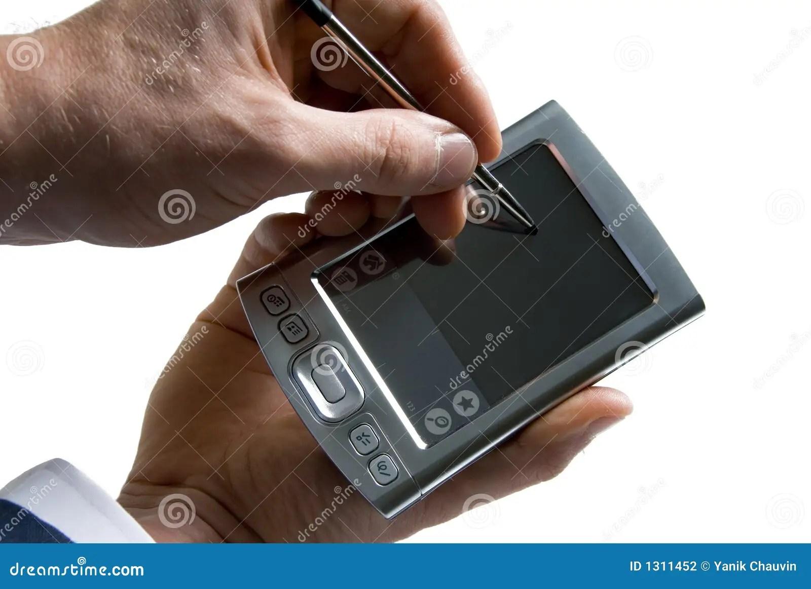 PDA foto de stock. Imagem de - 1311452
