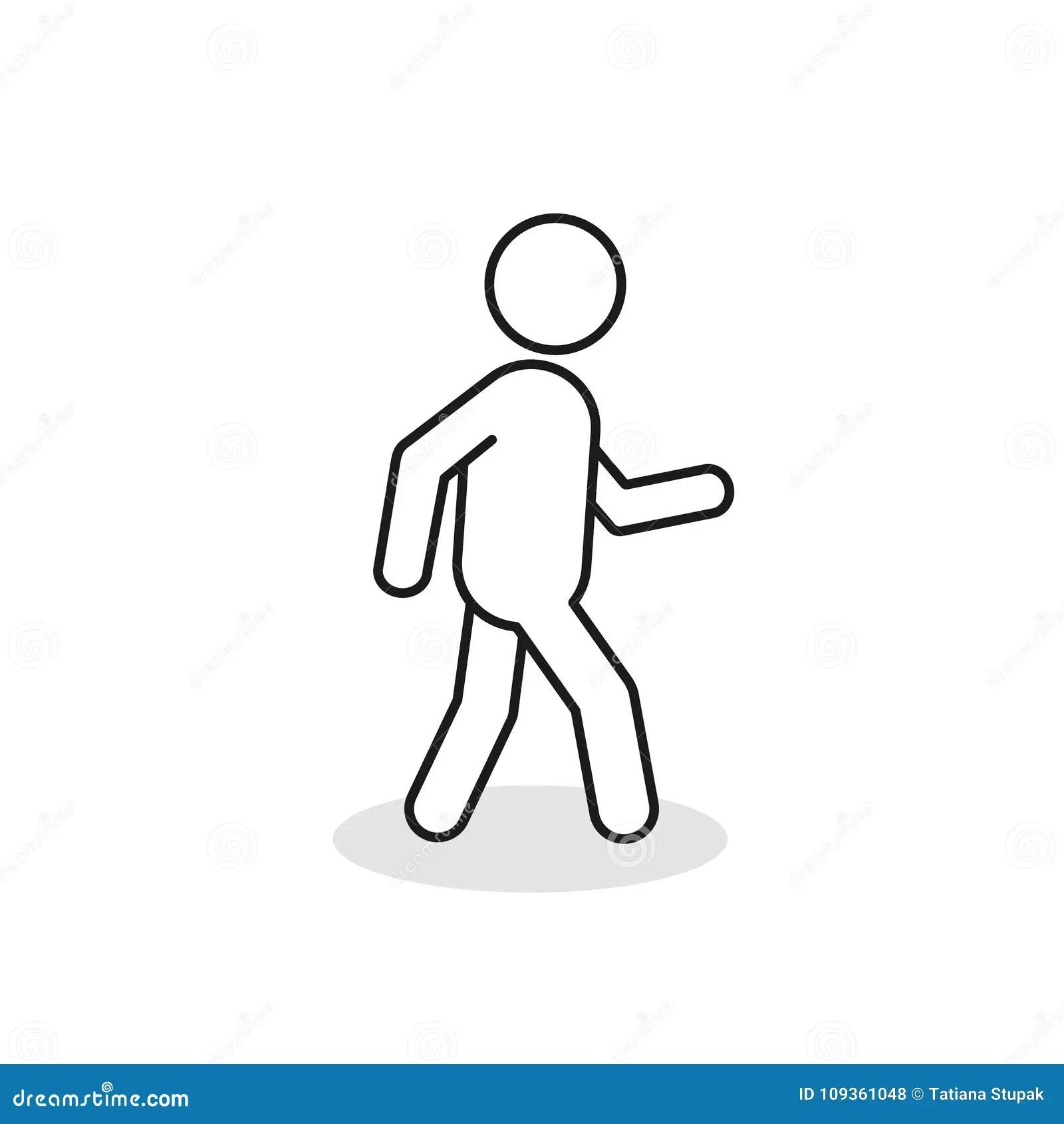 Pedestrian Silhouette Stock Illustrations 1 124