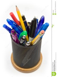 Pen Holder Stock Photography - Image: 916402