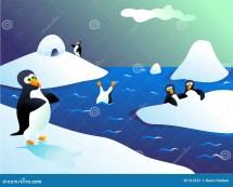 Penguins Stock Illustration. Of Nature Birds