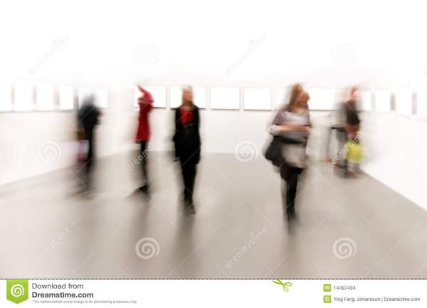 People In Arts Exhibition Stock Of Women