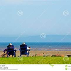 2 X 4 Adirondack Chair Plans Little Tikes Table And Chairs Set People Beach Summer Scene Stock Image - Image: 35880555