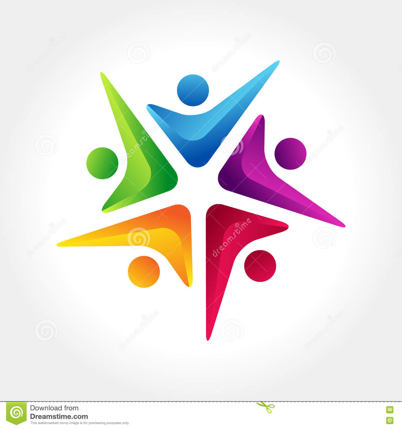 people connect logo communication
