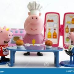 Pig Kitchen Colorful Cabinets Peppa猪和吃杯形蛋糕的乔治猪编辑类库存照片 图片包括有小雕象 乔治 坦波夫 俄罗斯联邦 2015年12月16日peppa猪和乔治猪在桌上坐老婆婆猪厨房奶油被装载的饼干美丽的夫妇跳舞射击工作室妇女年轻人