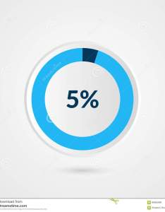 Download percent blue grey and white pie chart percentage vector infog stock also rh dreamstime