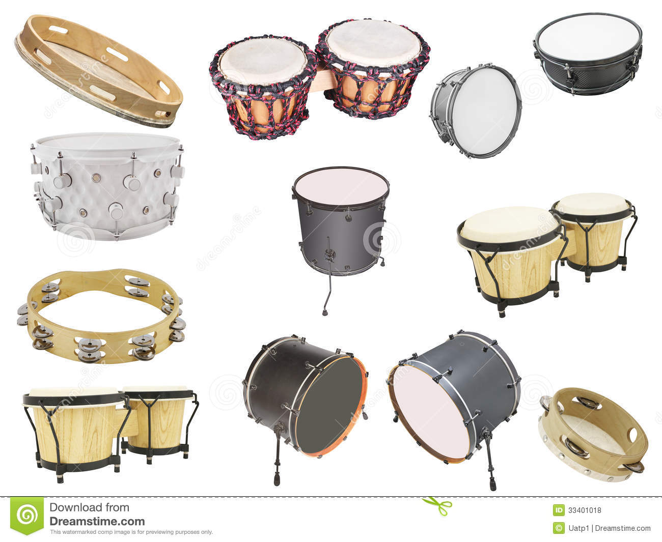 Percussion Instruments Stock Photo Image Of Indigenous
