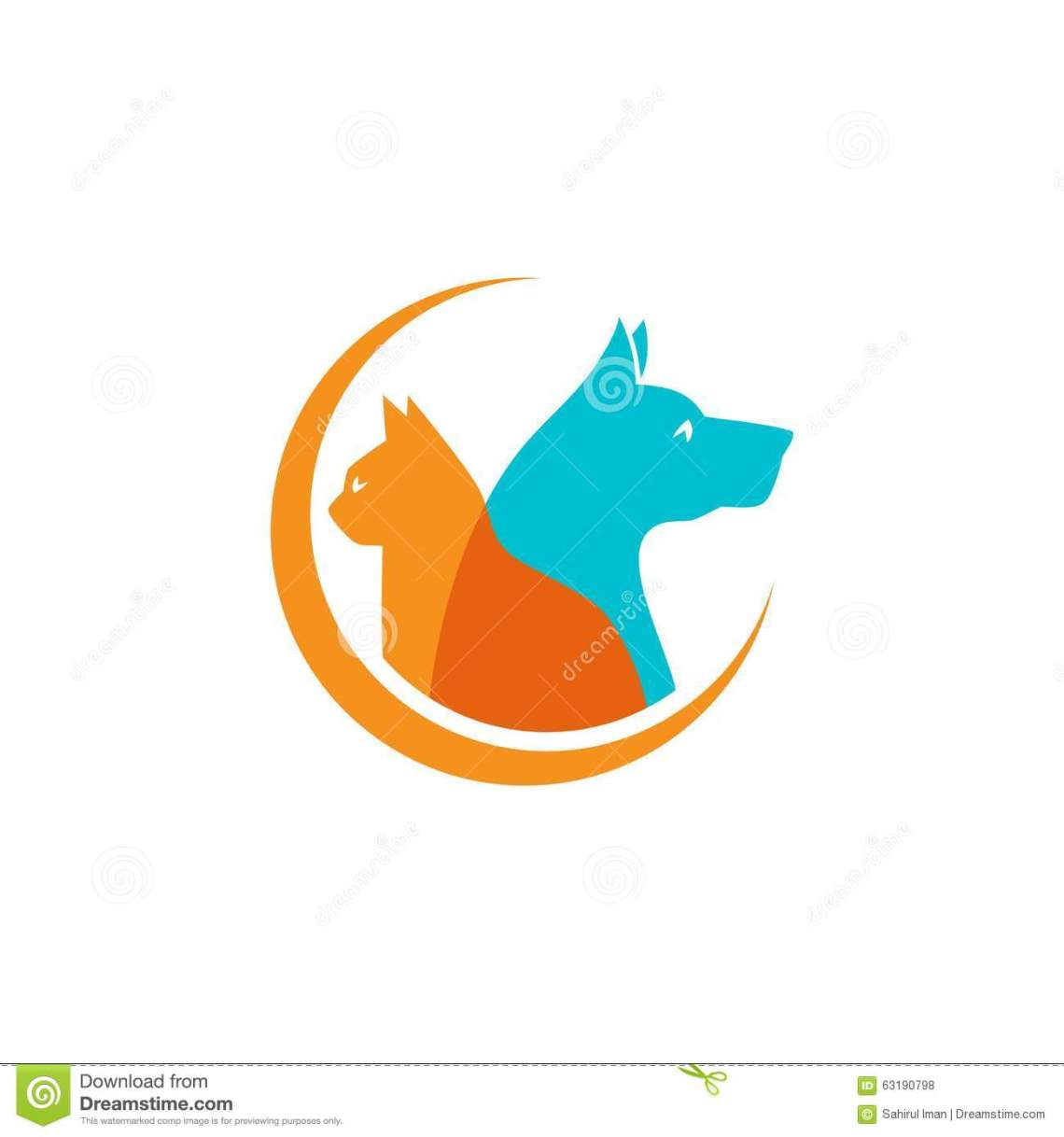 Download Pet And Veterinarian Logo ,animal Lover Group Stock Vector ...