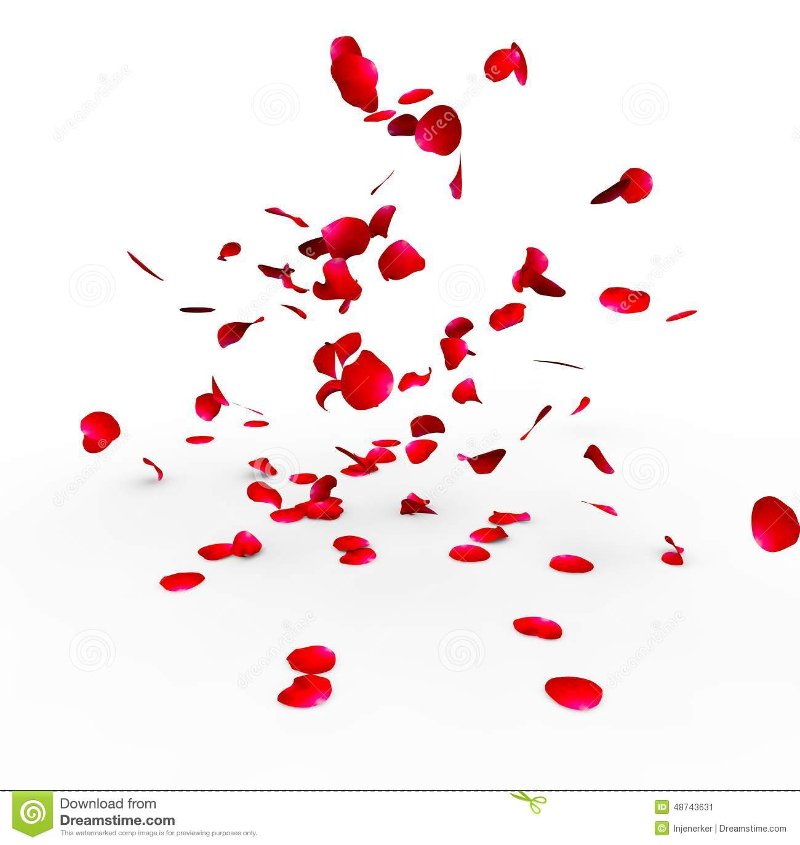 Rose Petals Falling Wallpaper Petali Di Rosa Che Cadono Su Una Superficie Illustrazione