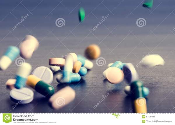Pharmacy Pictures Pills Dark Wallpaper