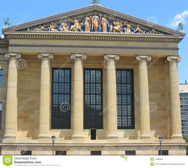 Philadelphia Museum Of Art Royalty Free Stock - 1286856