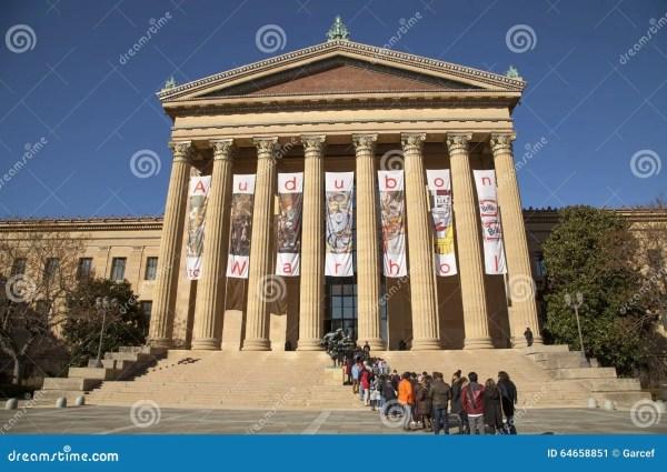 Philadelphia Museum Of Art Editorial - 64658851