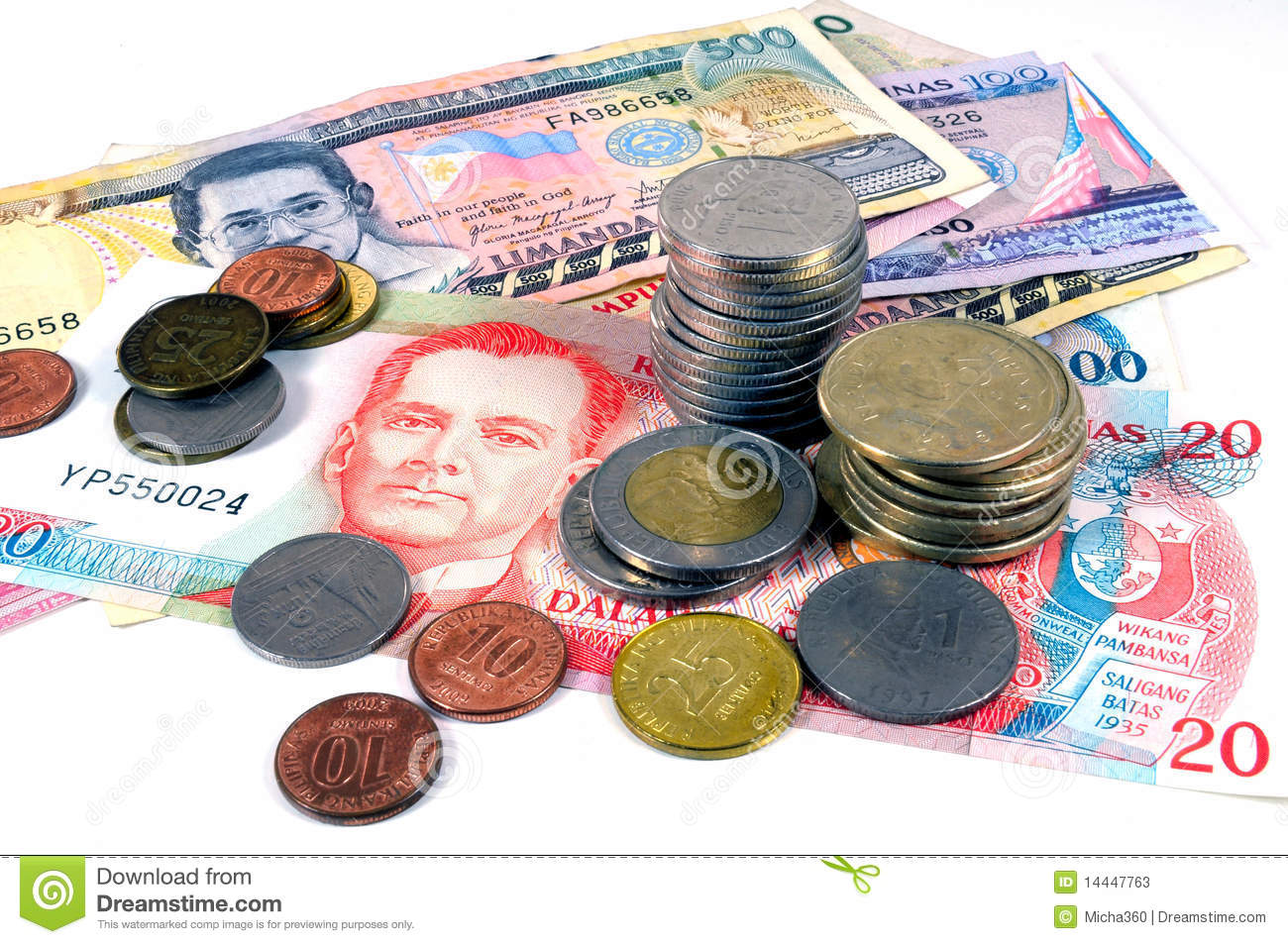 Philippines Money Stock Image Image Of Business Asia