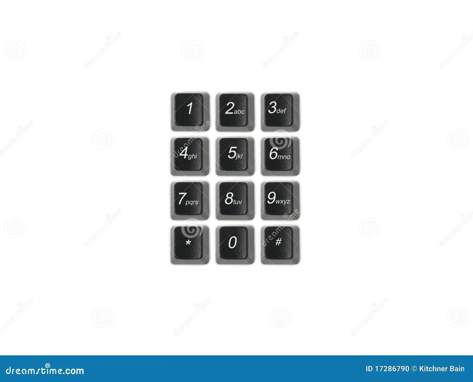 Phone Keypad Stock Photo Image Of Data Type Input