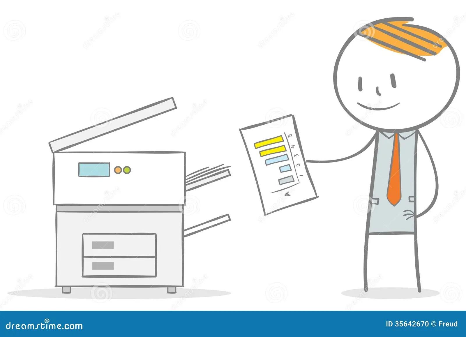 Photocopier Stock Photo