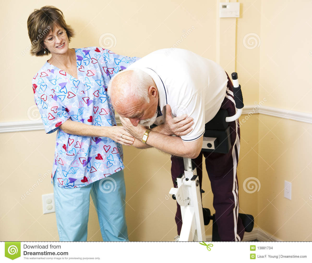 roman chair alternative bath chairs for elderly in india physical therapist helping patient stock photography