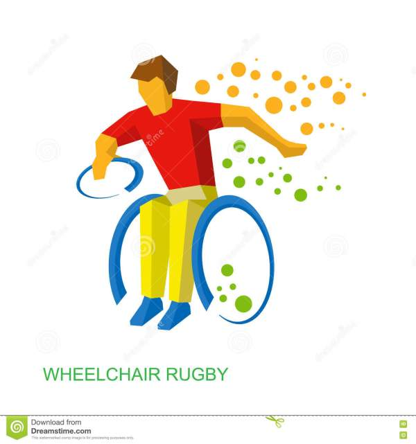 Physically Disabled People Clip Art
