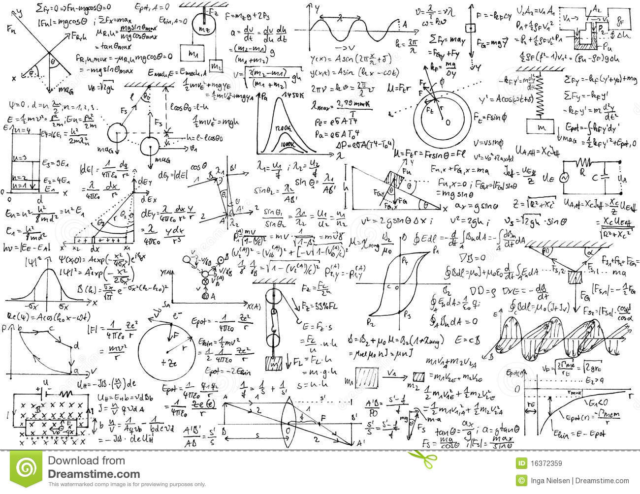Physics stock image. Image of mathematics, calculation