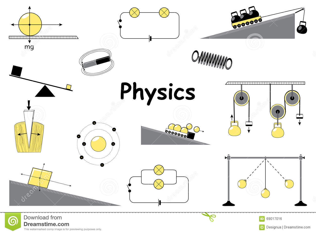 hight resolution of experiments equipment tools magnet atom pendulum newton s laws and the simplest mechanisms of archimedes