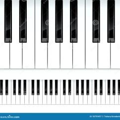 Notes On Piano Keyboard Diagram Jvc Kd R200 Wiring Keys Seamless Illustration Royalty Free Stock