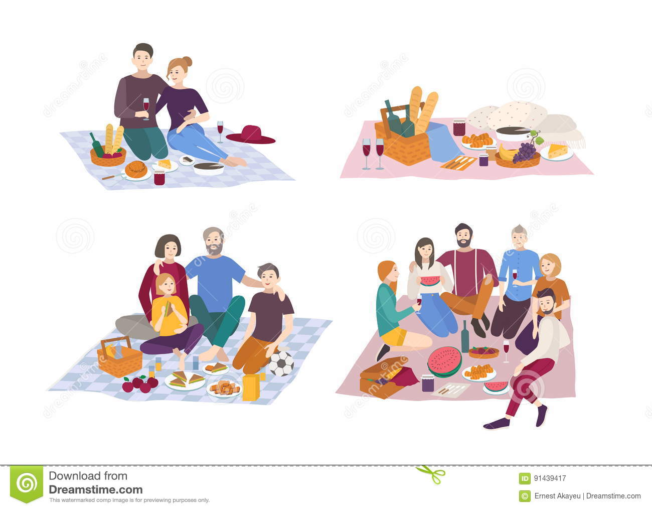 hight resolution of picnic friends stock illustrations 766 picnic friends stock illustrations vectors clipart dreamstime