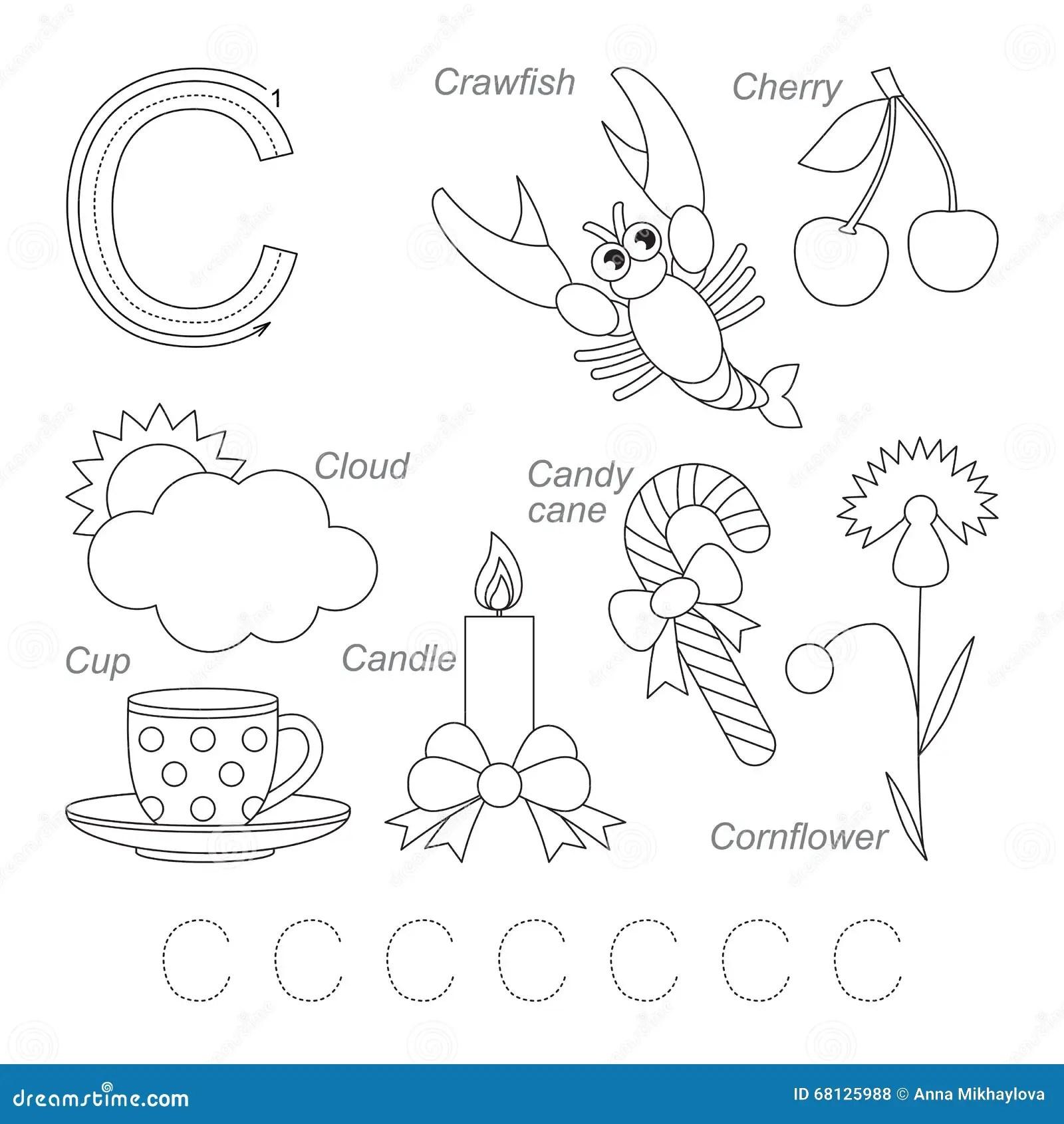 Pictures For Letter C Stock Illustration Illustration Of