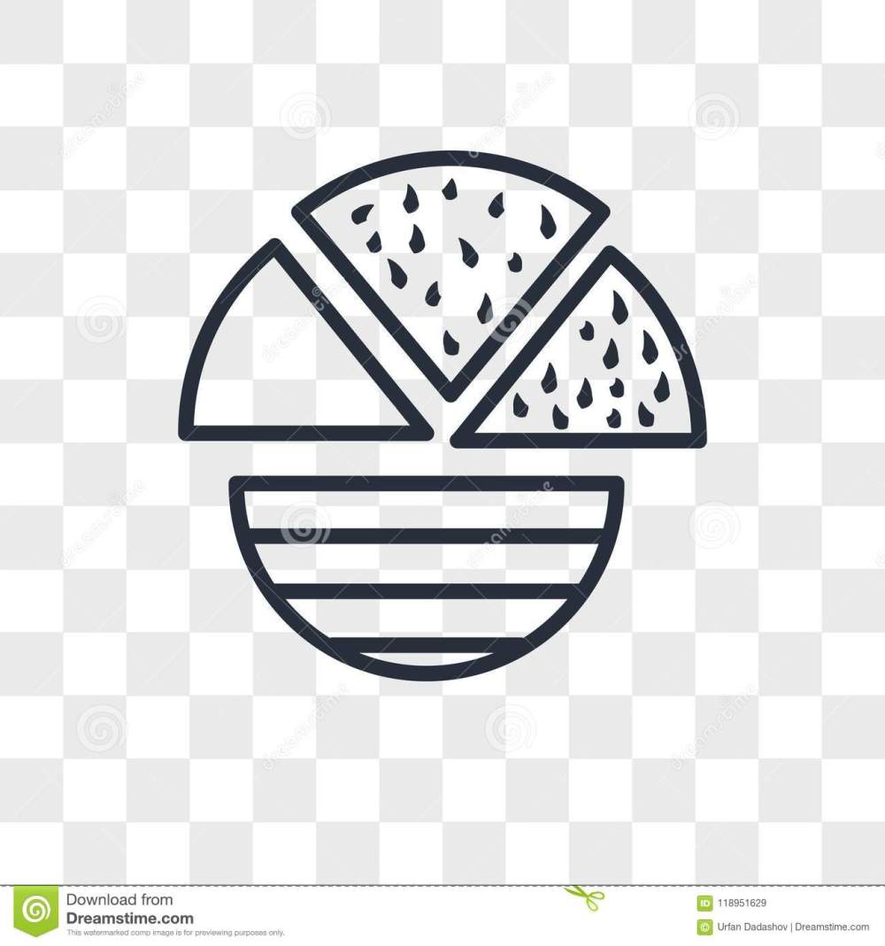 medium resolution of pie chart vector icon isolated on transparent background pie chart logo concept